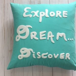 Other - Explore Dream Discover Pillow